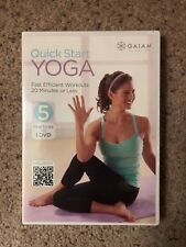 QUICK START YOGA - 5 PRACTICES - 1 DVD