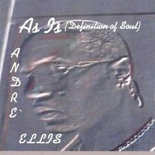 Andre Ellis-   As Is  - New Factory Sealed  CD
