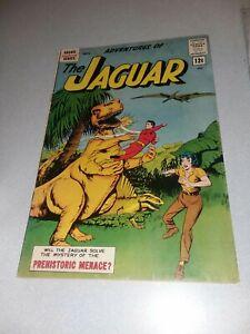 Adventures of the Jaguar #10 archie comics 1961 Silver age mighty mlj superhero