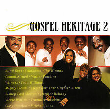 ~COVER ART MISSING~ Various Artists CD Gospel Heritage 2