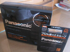 Sanyo Panasonic Eneloop Pro rechargeable battery charger AA 8pcs japan 2450mAh