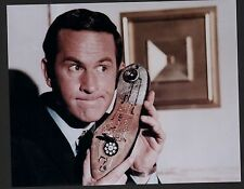 GET SMART DON ADAMS WITH LEGENDARY SHOE PHONE GREAT PHOTO