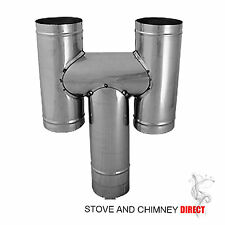H Cowl Flexible Chimney Pot (6 inch Stainless)