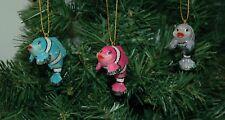 Clown Fish Christmas Ornament Set