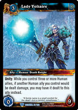 WOW WARCRAFT TCG BETRAYAL OF THE GUARDIAN : LADY VOLTAIRE X 3