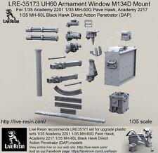 Live Resin 1/35 LRE-35173 UH60 Armament Window M134D Mount