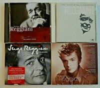 SERGE REGGIANI ♦ lot 4 x CD Albums ♦ inclus BEST OF, INEDITS,  reprise Renaud