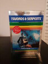 IMAGIC Swords & Serpents Video Game Cartridge for Mattel Intellivision System