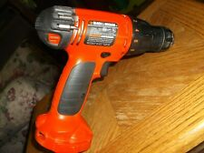 Black and Decker 9.6V Cordless Drill  CD9602 TOOL ONLY - USED, WORKING