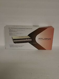 ATLONA 4:1 Automatic Audio/Video Switcher Model AT-AVSC41 New In Box