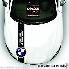 Fits BMW 3 Series 320D 320i 330i 335i 328i 330i 335D 316i 320D Hood Decal Stripe