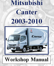 MITSUBISHI CANTER 2003-2010 FACTORY WORKSHOP MANUAL ON CD OR DOWNLOAD