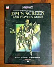 Sword Scorcery DM'S SCREEN AND PLAYER'S GUIDE Monte Cook d20 System