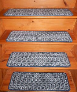 13 = Step 9'' x 30'' Landing  30'' x 30''  Tufted carpet Wool Woven Stair Treads