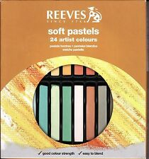 24 Feine Soft Pastellkreide Reeves