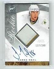 08-09 UD The Cup  James Neal  /249  Auto  Patch  Rookie