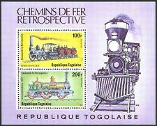 Togo #C391a MNH S/S Locomotives/De Witt Clinton/Jenny Lind