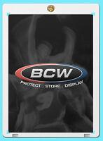 5 BCW 120PT 1-SCREW SCREWDOWN CARD Holders 120 pt sports trading storage holder