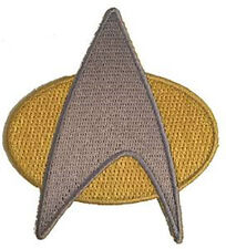 Star Trek Next Generation  Uniform Cosplay IRON ON Patch