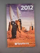 Spyderco USA Knives 2012 Knife Company Product Guide Catalog