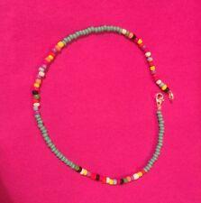 Turquoise /multi Coloured  anklet/Ankle Bracelet  seedbead boho/hippie/festival
