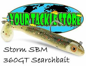"Storm SBM 360GT Searchbait 4.5"" 1/4 oz jig You Pick Color & Quantity NIP"