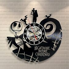 Jack Skellington Wall Clock Character From Nightmare Before Christmas