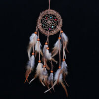 Dream Catcher With Feathers Handmade Yard Wall Home Car Decoration Ornament Gift