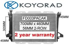 FORD F100 F150 F250 F350 V8 1981-1993 RADIATOR *GENUINE KOYORAD*