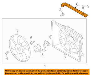 HYUNDAI OEM 13-18 Santa Fe 2.4L-L4 Cooling Fan-Cover 291502W500