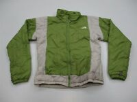 THE NORTH FACE Jacket Women Size S Full Zip Insulated Green Mountain Puffer