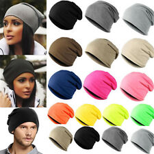 Unisex Men Women Cotton Baggy Beanie Oversize Winter Hat Ski Slouchy Chic Cap