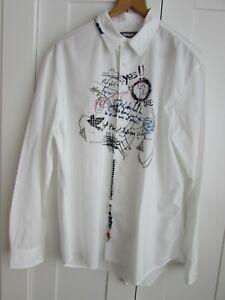 Desigual Cotton Long Sleeved Shirt Size XXL