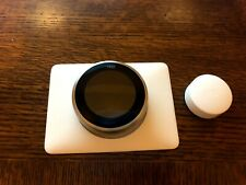 Nest 3rd Generation. **With Remote Sensor** and White Face Plate. - Used -