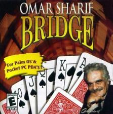 Omar Sharif Bridge For Palm / Pocket Pc Cd strategy bidding table card game! Pda