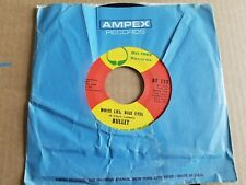 "BULLET - White Lies, Blue Eyes / Changes of Mind 1971 FUNK SOUL 7"" Big Tree EX"