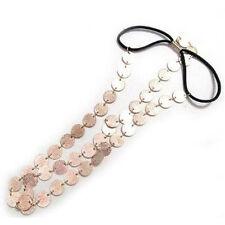 Disc Coin Crown Hair CufWrap Headband Headdress Boho Chain A+