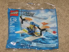 Lego City / Town COAST GUARD SEAPLANE 30225 Minifigure Sealed Bag 37 pcs IN HAND