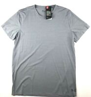 Under Armour Mens Large Gray ArmourVent Short Sleeve Crew Athletic T-Shirt NWT