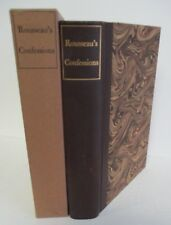 THE CONFESSIONS OF JEAN JACQUES ROUSSEAU Limited Editions Club in Slipcase
