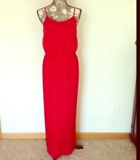 Charming Charlie Red Maxi Dress M