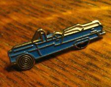 Blue Convertible 1950's Auto Lapel Pin - Vintage Retro Car Cruiser Automobile