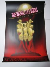 Scarface Screen Print by John Barry Ballaran edition #50 (Not Mondo)