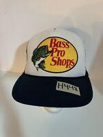 Bass Pro Shops Vintage Truckers Mesh Back Ball Cap Hat Adjustable Snapback NWOT