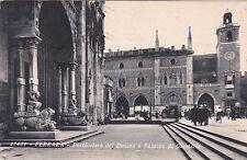 FERRARA - Particolare del Duomo e Palazzo di Giustizia 1934