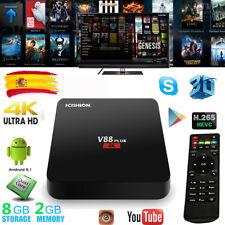 SCISHION V88 plus Smart TV Box 2GB+8GB Android 5.1 QuadCore WIFI 3D Media Player
