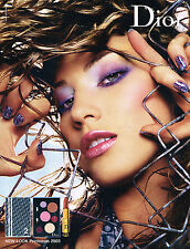 PUBLICITE ADVERTISING 045  2003  DIOR  cosmétiques NEW LOOK