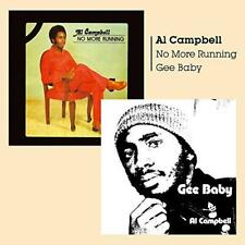 Al Campbell - Gee Baby + No More Running (NEW CD)
