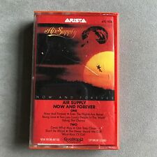 Now and Forever Air Supply Cassette Tape 1982 Arista Records