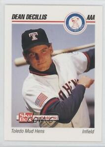 1992 SkyBox Pre-Rookie Toledo Mud Hens Dean Decillis #583